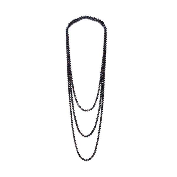 Naszyjnik z pereł słodkowodnych Fresh 250 cm, ciemny