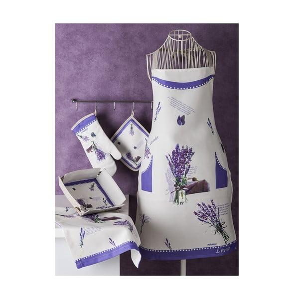 Zestaw tekstyliów kuchennych Lawenda
