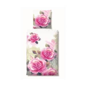 Pościel Satin Rose, 155x220 cm