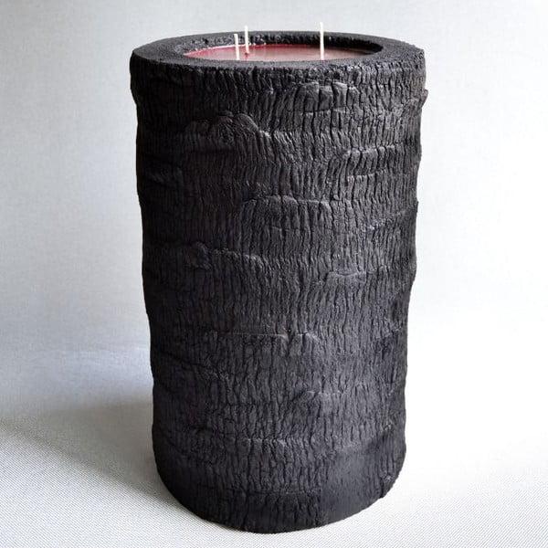Palmowa świeczka Legno Bordeux Bruciato o zapachu owoców egzotycznych, 80 godz.