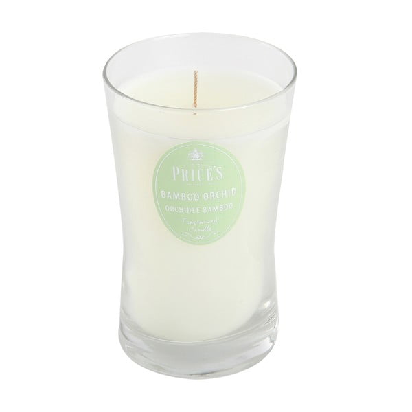Świeczka zapachowa Prices, bambusowa orchidea, 70 godz.