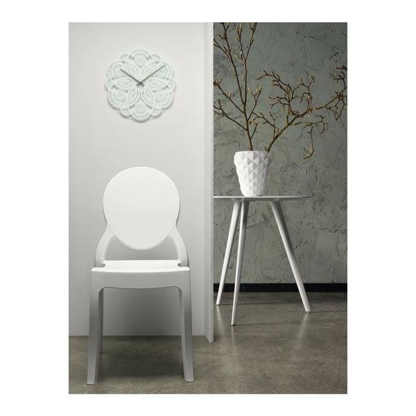 Zegar ścienny Present Time Lace White