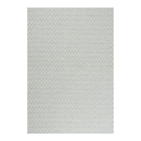 Wełniany dywan Charles Aqua, 200x300 cm