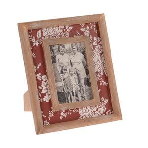 Drewniana ramka na zdjęcia InArt, czerwona