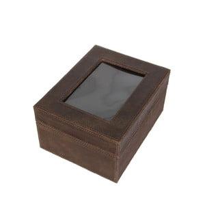 Pudełko Cordoba Brown, 22x18 cm