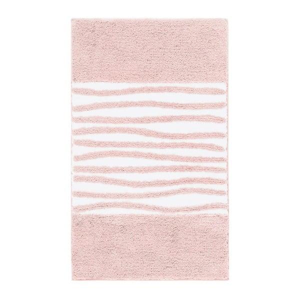 Dywanik łazienkowy Morgan Blush, 60x100 cm