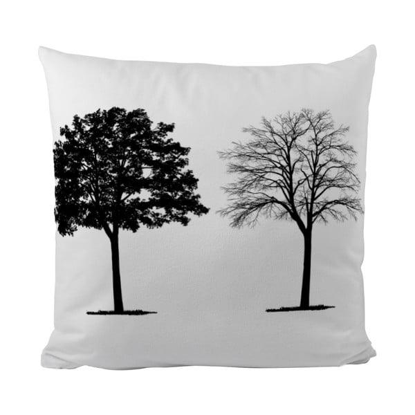 Poduszka Black Shake Two Trees, 40x40 cm