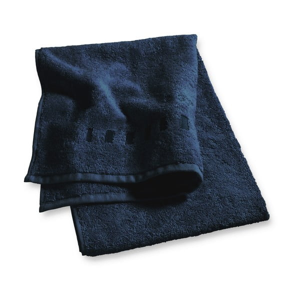 Ciemnoniebieski ręcznik Esprit Solid 50x100 cm