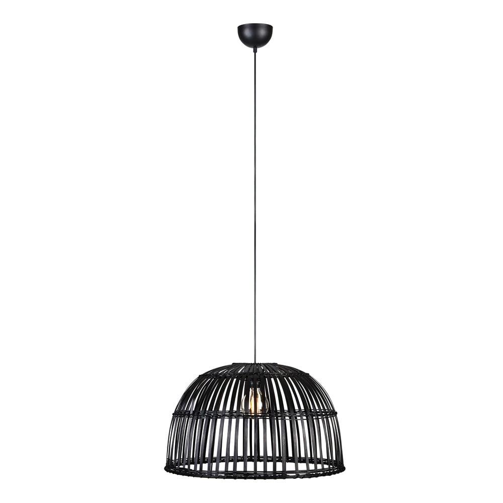 Czarna lampa wisząca Markslöjd Cottage Pendant 1L