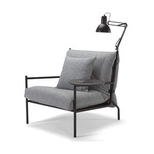 Szary fotel Innovation Noir Chair