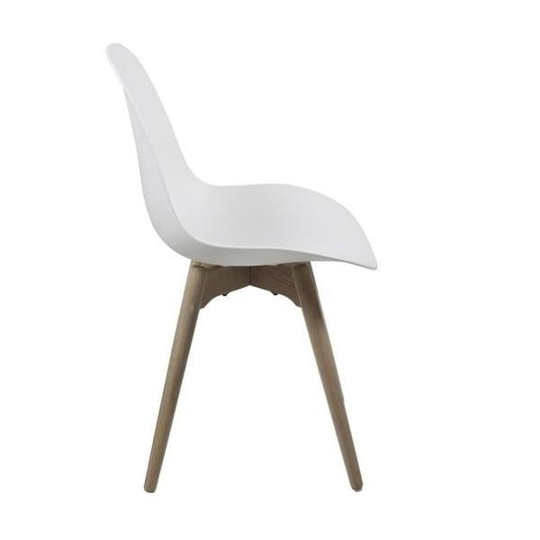 Białe krzesło Actona Scramble