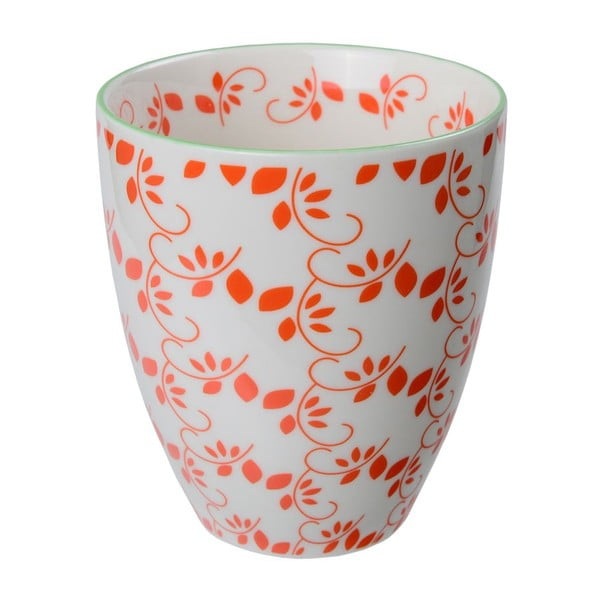 Porcelanowy kubek Spring Red, 8,7x9,8 cm