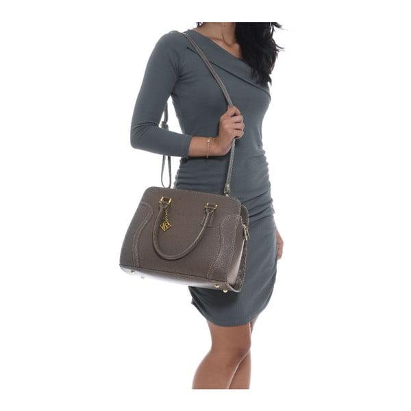 Skórzana torebka Isabella Rhea 427 Fango