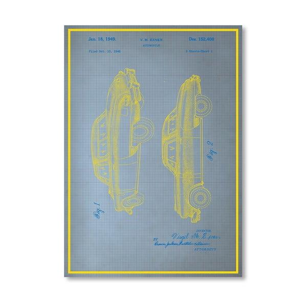 Plakat Studebaker, 30x42 cm