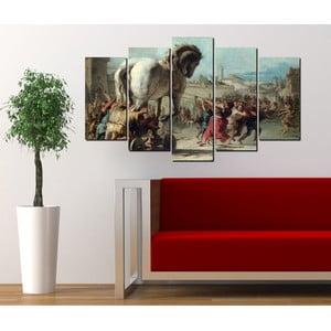 5-częściowy obraz Koń trojański
