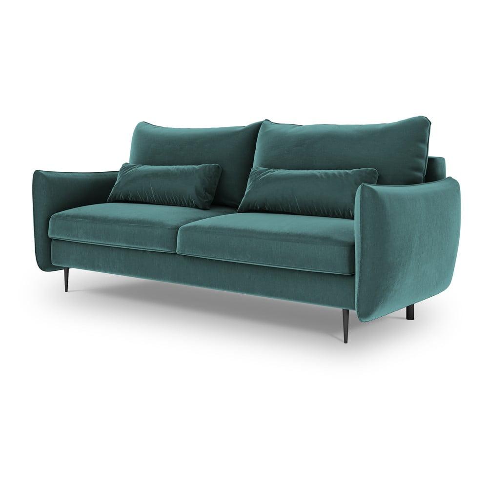 Morska sofa rozkładana ze schowkiem Cosmopolitan Design Vermont