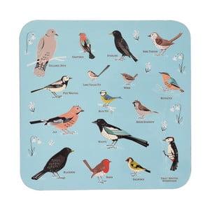 Mata stołowa z korka Rex London Garden Birds