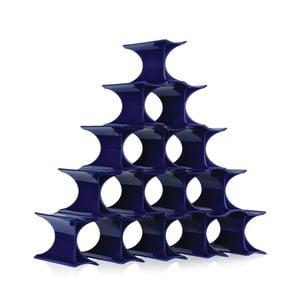 Niebieski stojak na wino Kartell Infinity