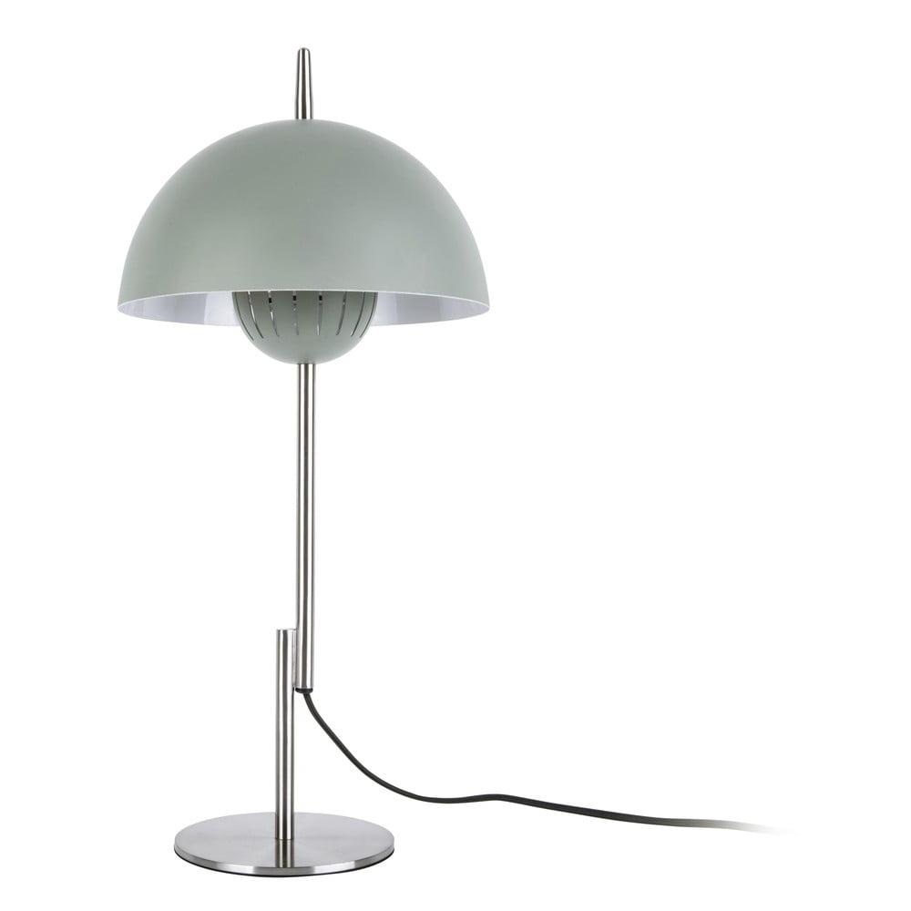 Szarozielona lampa stołowa Leitmotiv Sphere Top,ø25cm