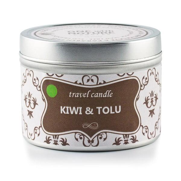 Świeczka zapachowa w puszce Kiwi and Tolu