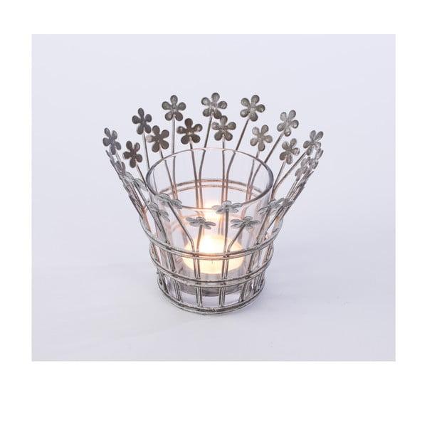 Metalowy świecznik Votive, 15x15 cm
