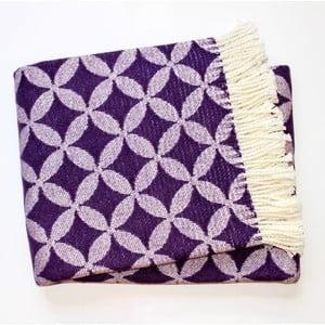 Koc Petalo Purple, 140x180 cm