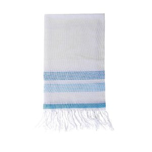 Ręcznik hammam Berrak Blue, 80x160 cm