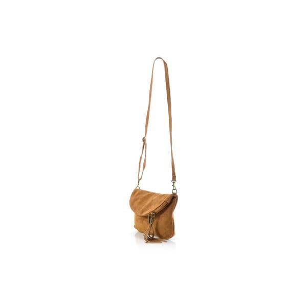 Skórzana torebka Juliette, cognac