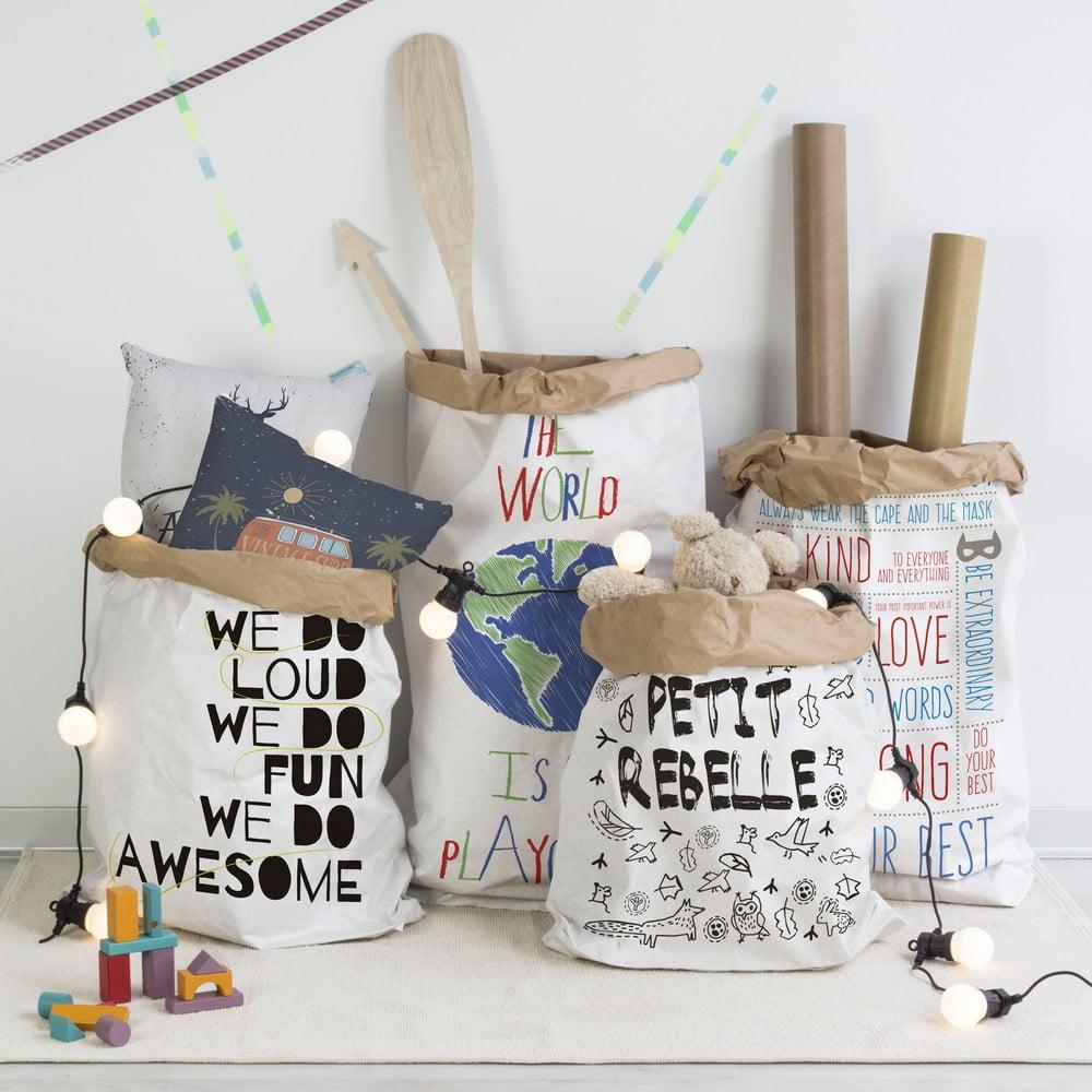 torba papierowa little nice things rebel bonami. Black Bedroom Furniture Sets. Home Design Ideas