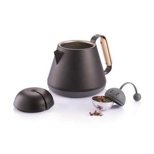 Czarny dzbanek do herbaty XD Design Teako