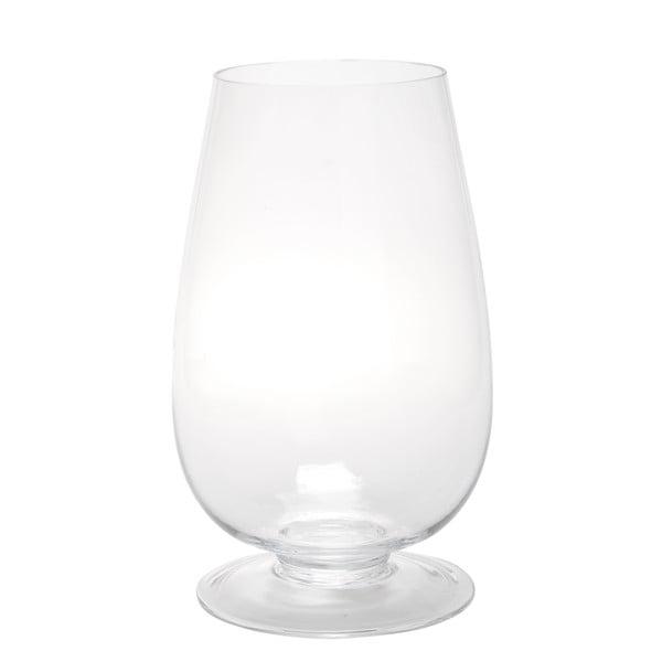 Szklany lampion Hurricane Egg, 28 cm
