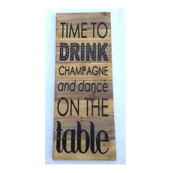 Tablica Time to Drink