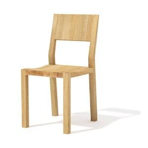 Krzesło z litego drewna dębowego Javorina Hevy