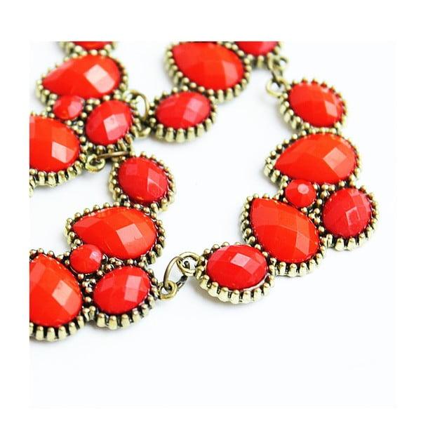 Naszyjnik Romantic Cherry Red
