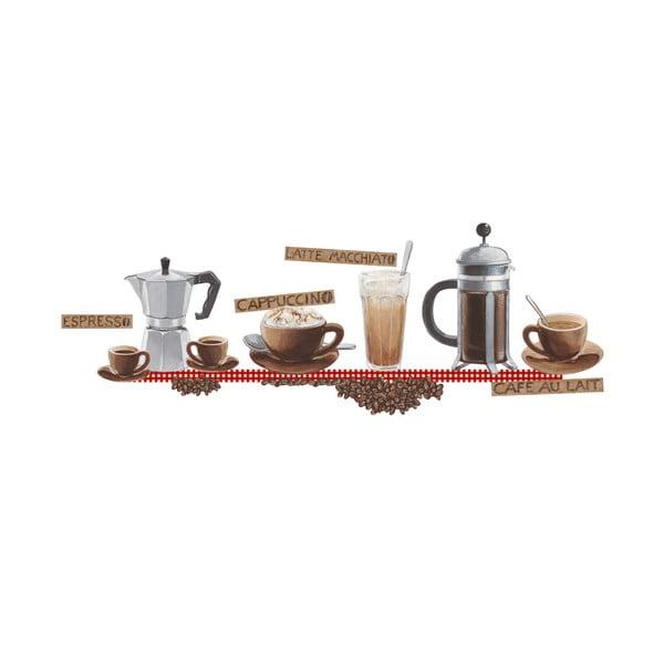 Naklejka dekoracyjna Kawa