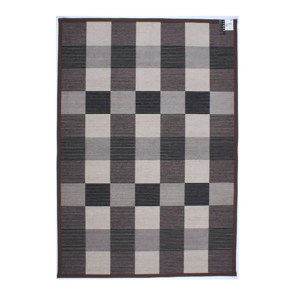 Dywan Square Brown, 80x250 cm