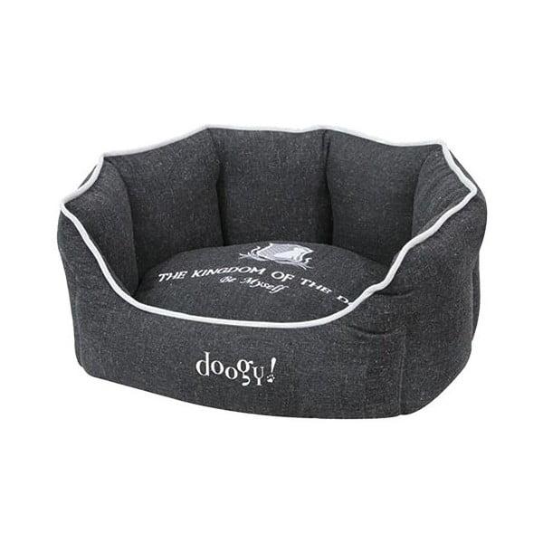 Posłanie dla psa Doggy Kingdom, czarne