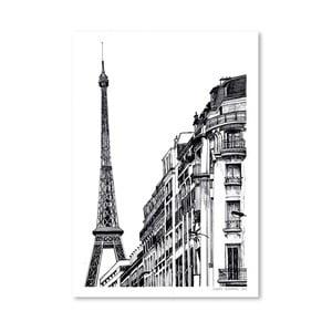 Plakat Paris, 30x42 cm