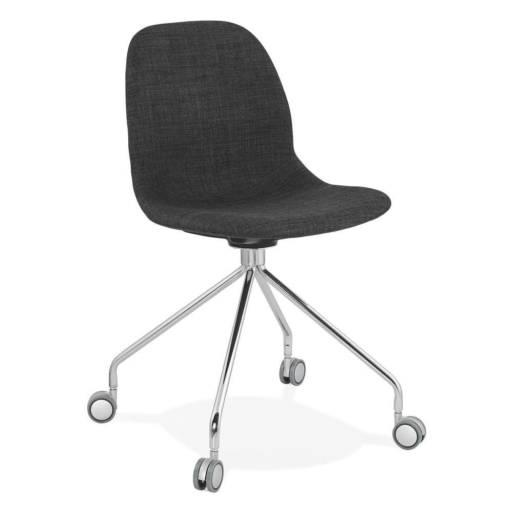 Szare krzesło biurowe Kokoon Ruleta