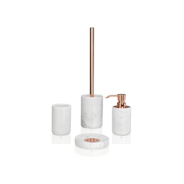 Szczotka do WC Marble Copper