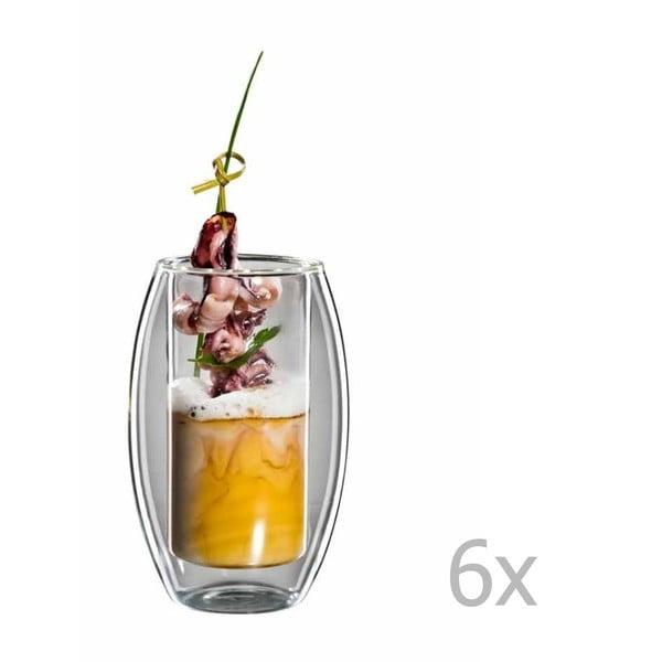 Zestaw   6 szklanek bloomix Tube