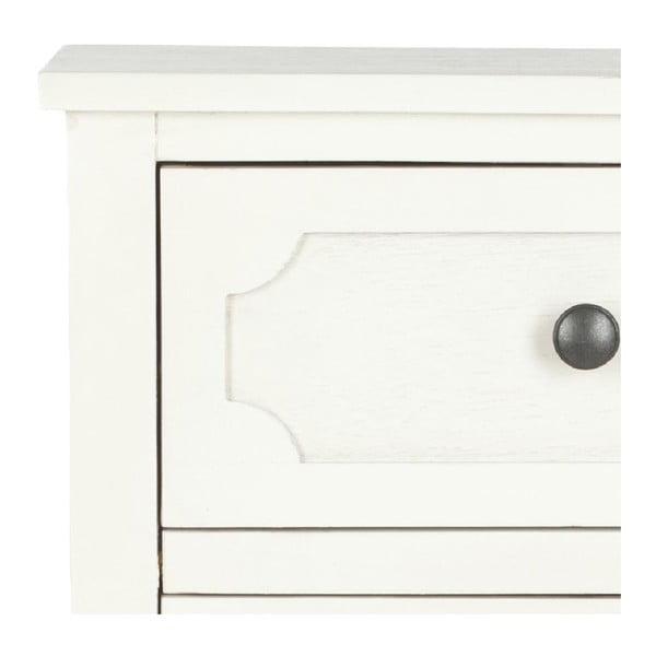 Biała komoda z szufladami Safavieh Winslow