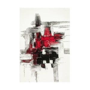Dywan Farbles Black/Red, 120x180 cm