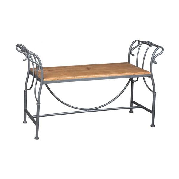 Ławeczka Metal Wood, 102 cm