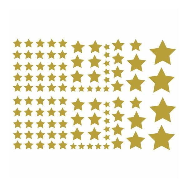 Zestaw 100 naklejek Fanastick Golden Stars