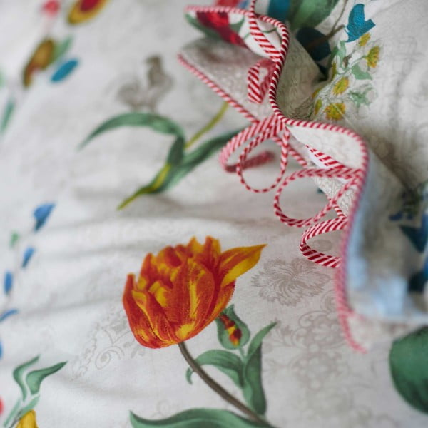 Pościel Pip Studio Cherry, 240x220 cm, biała