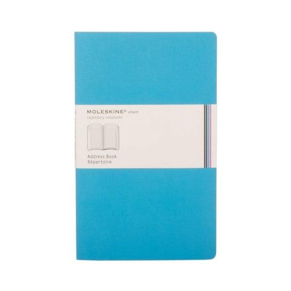 Książka adresowa Sky Blue Volant L