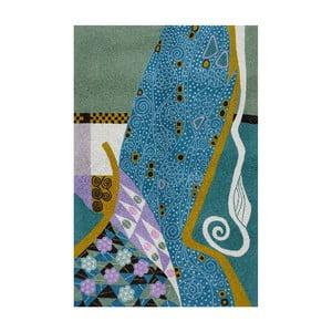 Dywan Klimt Peacock, 150x90 cm