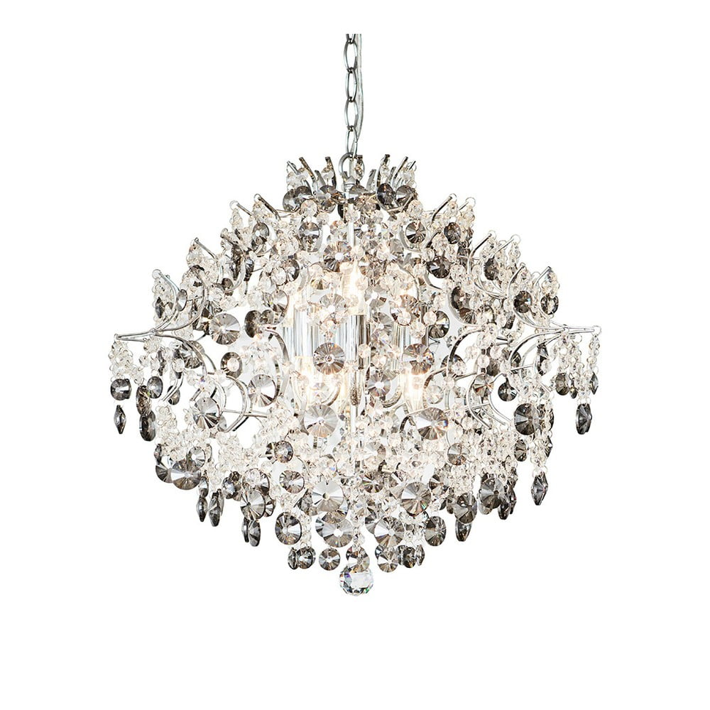 Chromowana lampa wisząca Markslöjd Hidden, ⌀ 53 cm