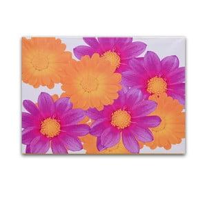 Obraz na drewnie Flowers Composition, 50x36 cm
